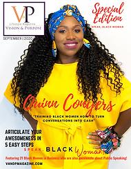 Speak Black Woman V&P Special Edition-FI