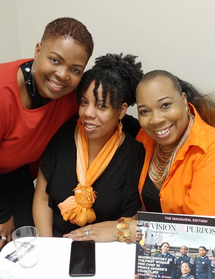 Karen, Crystal, Dr. Sharon