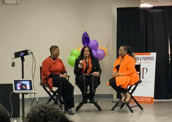 Karen, Dr. Essie, Dr. Sharon