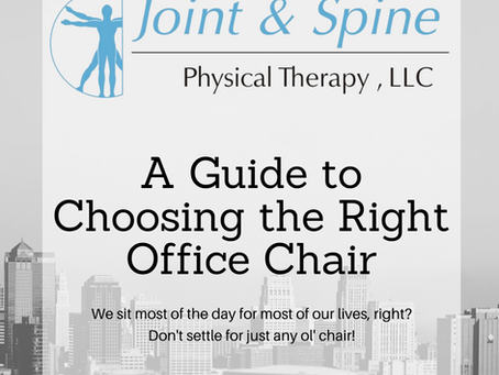 A Guide for Choosing the Right Office Chair