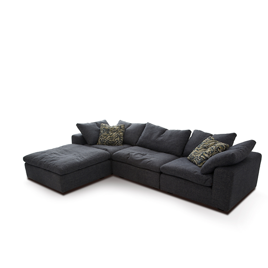 HAVEN MODULAR SOFA - DARK GREY