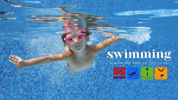 boy swim