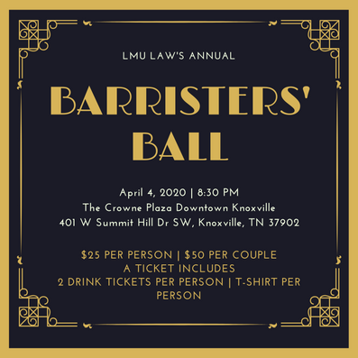 SBA will be selling Barrister's tickets every monday in the atrium.