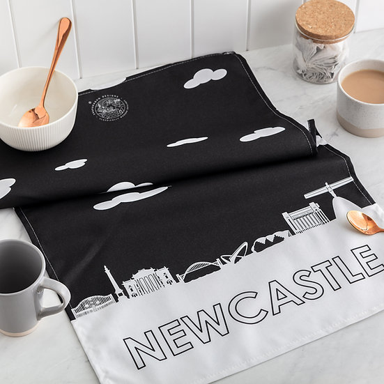 Newcastle Skyline Tea Towel