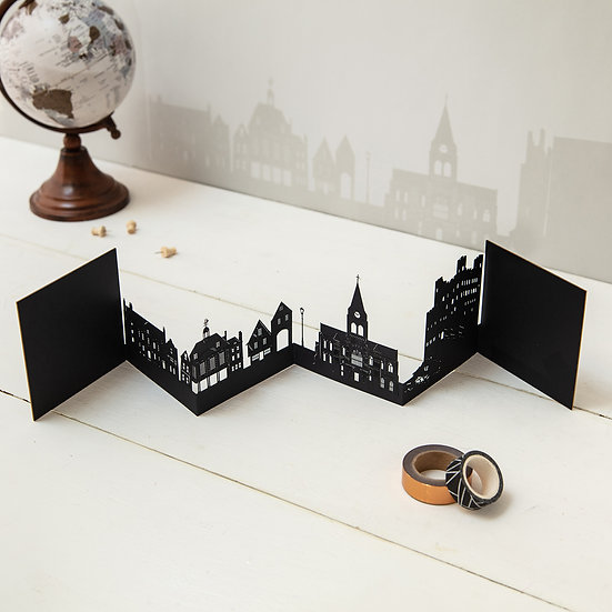 Rochester 3D Skyline Card