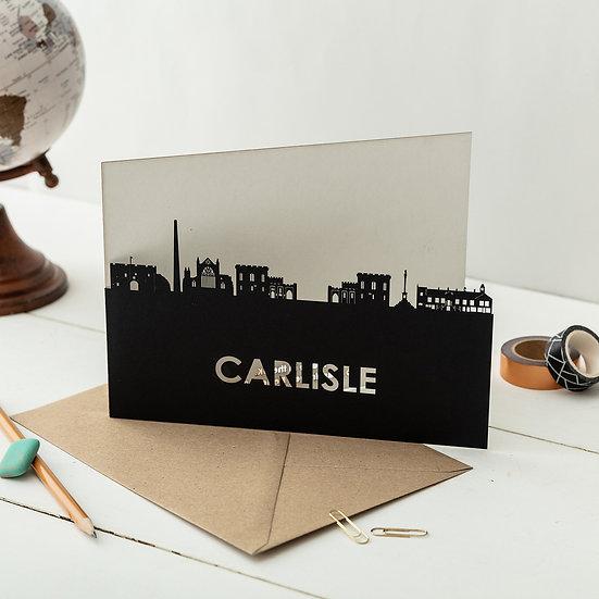 Carlisle A5 Lasercut Greetings Card