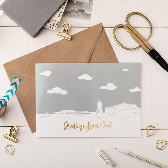 Deal Day A5 Greetings Card