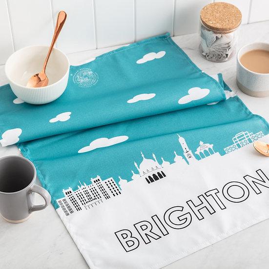 Brighton Skyline Tea Towel