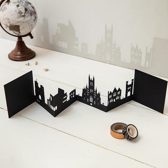 Canterbury 3D Skyline Card