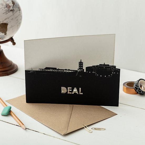 Deal A5 Lasercut Greetings Card