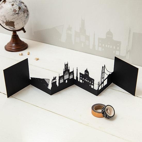 Hull 3D Skyline Card