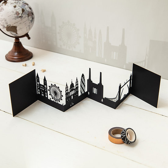 London 3D Skyline Card