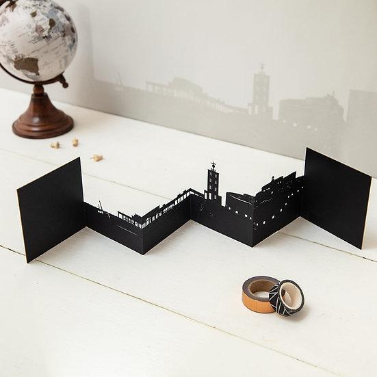 Deal 3D Skyline Card