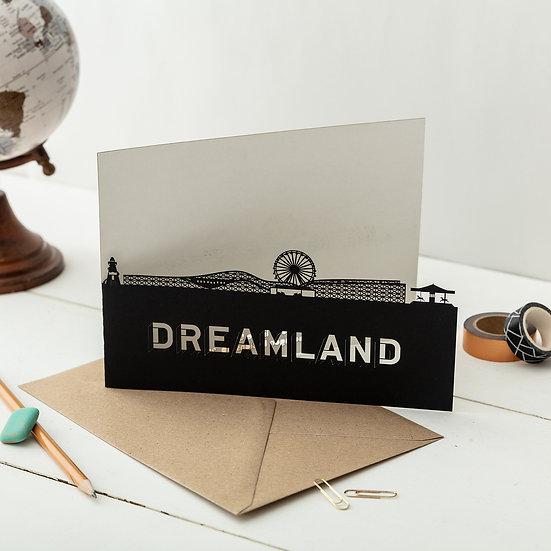 Dreamland, Margate A5 Lasercut Greetings Card
