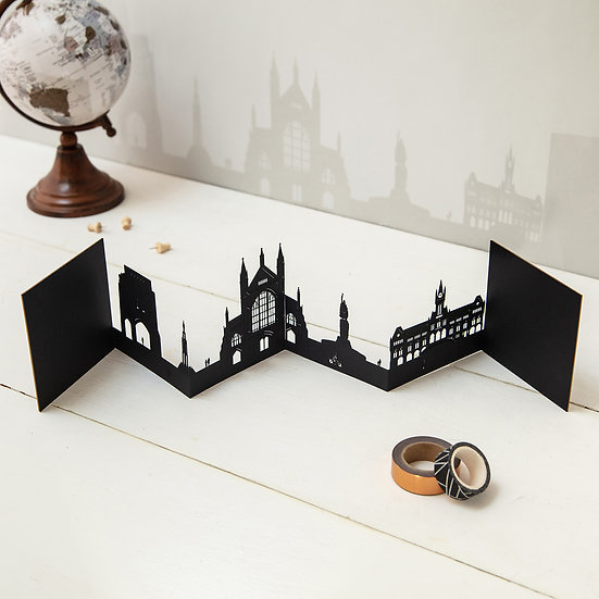 Winchester Skyline 3D Card