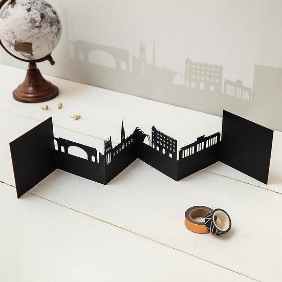 Sheffield 3D Skyline Card
