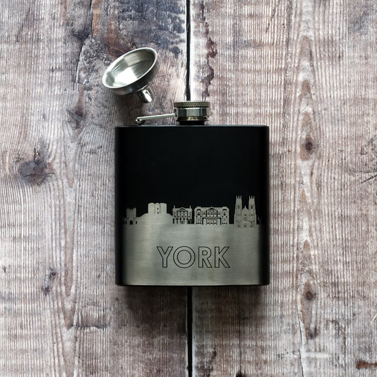 York Hip Flask