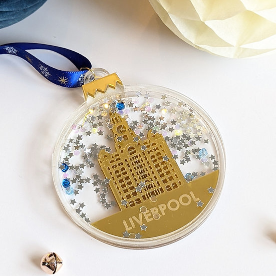 Liverpool Shaker Christmas Bauble