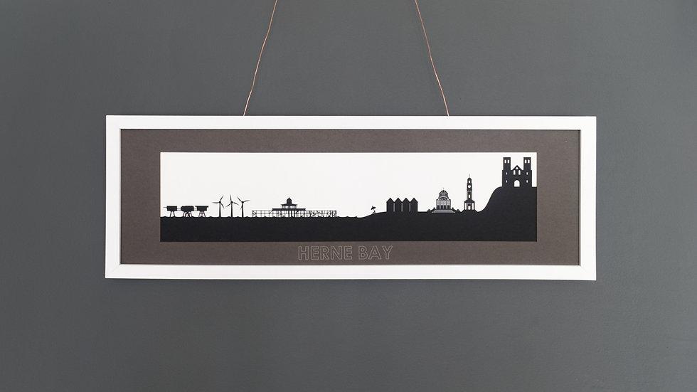 Herne Bay Large Lasercut Scene