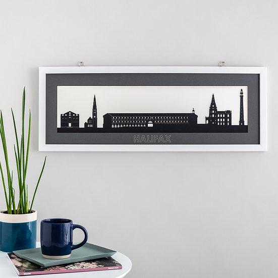 Halifax Skyline Papercut Print
