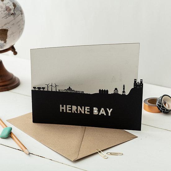 Herne Bay A5 Lasercut Greetings Card