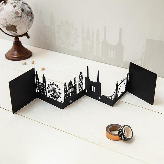 London 3D Skyline Card