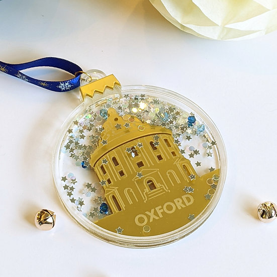 Oxford Shaker Christmas Bauble
