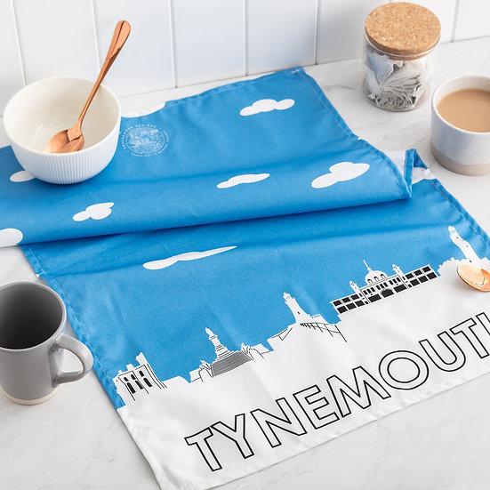 Tynemouth Skyline Tea Towel