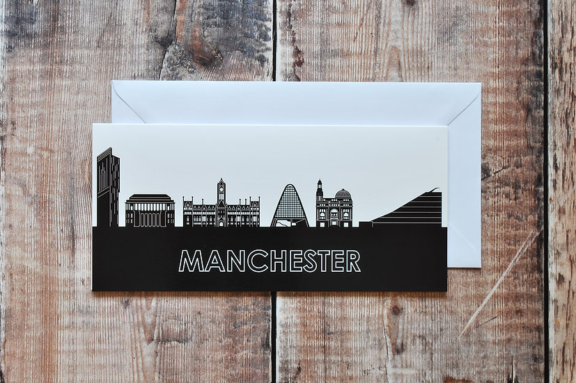 Manchester Greetings card Snapdragon Designs