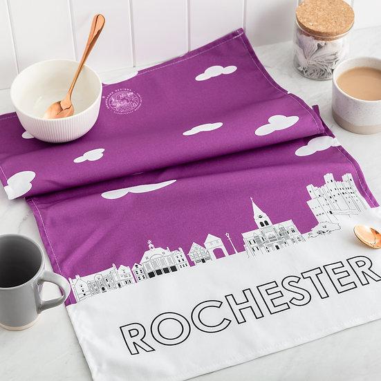 Rochester Skyline Tea Towel