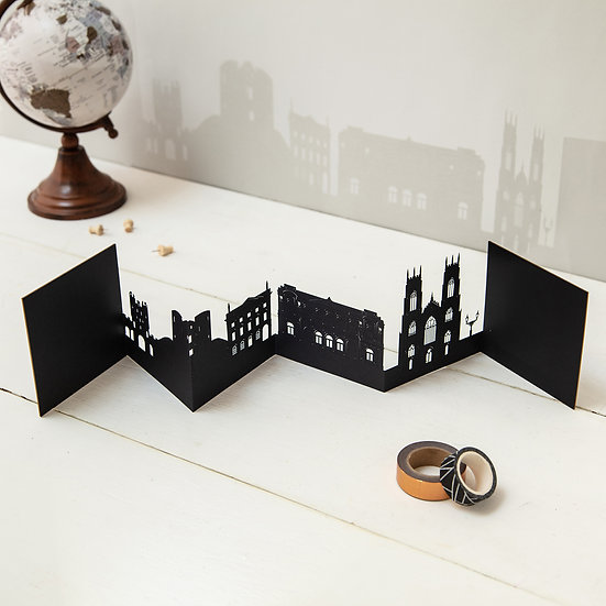 York 3D Skyline Card