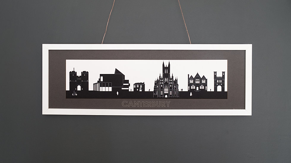 Canterbury Large Lasercut Scene