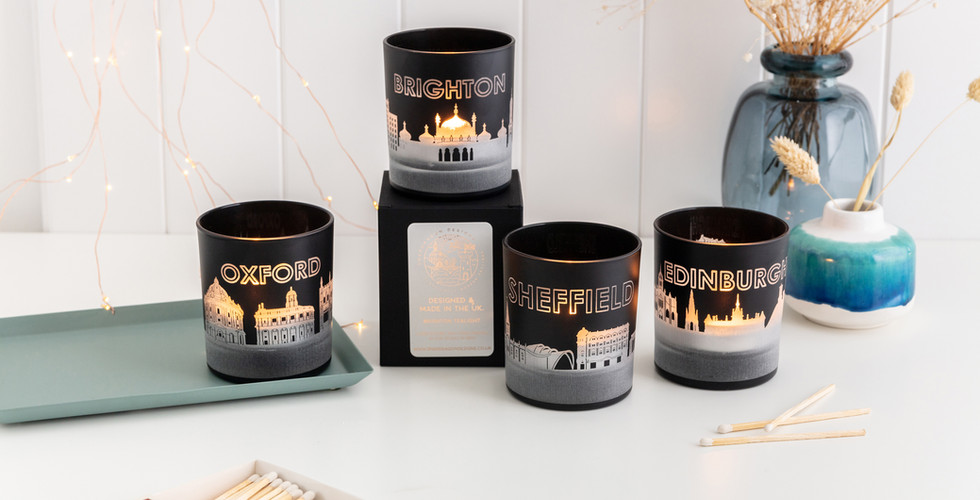 Mixed Skyline Tea Lights Snapdragon Desi