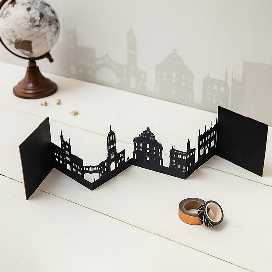 Oxford 3D Skyline Card