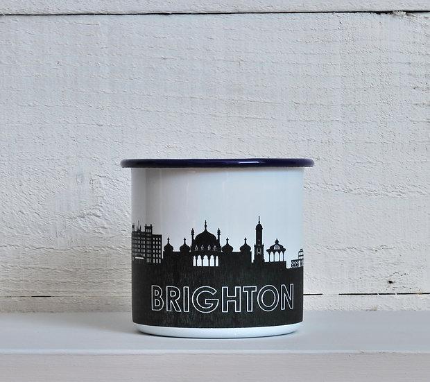 Brighton enamel mug snapdragon designs
