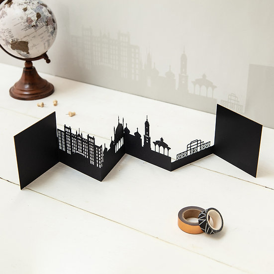 Brighton 3D Skyline Card