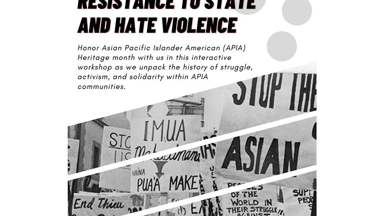 Solidarity: Resistance to State and Hate Violence