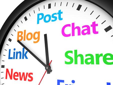 Sosyal Medya Yönetiminde Paylaşım Saatlerinin Önemi