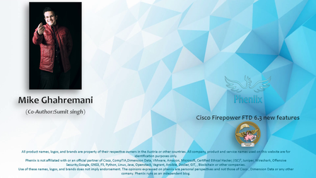 Cisco Firepower FTD 6.3 new features
