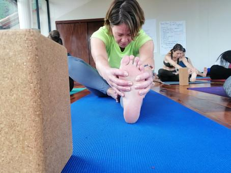 I can't do yoga, I'm not flexible