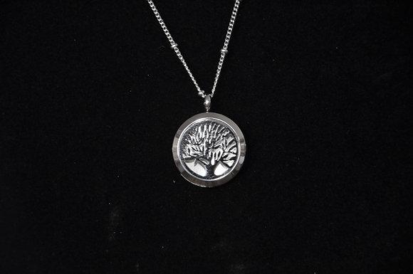 Aromatherapy Tree of Life Locket Necklace