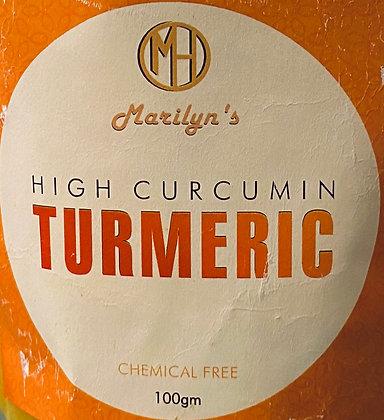 High Curcumin Turmeric - 100g