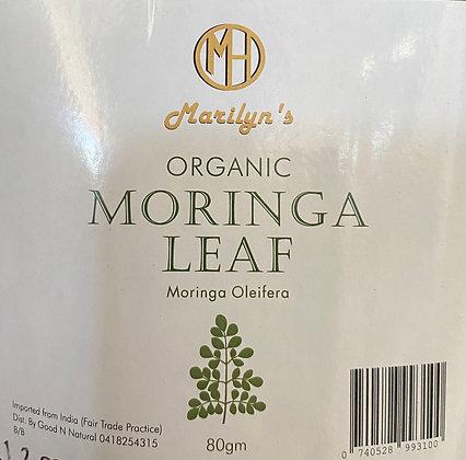 Organic Moringa Leaf - 80mg
