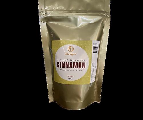 Organic Sri Lankan Cinnamon - 150g