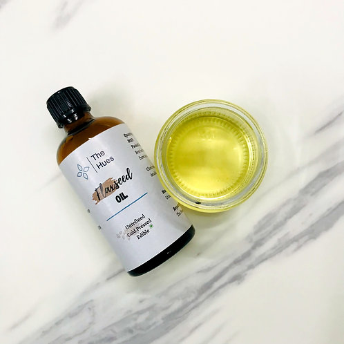Cold pressed Flaxseed Oil, [Edible]