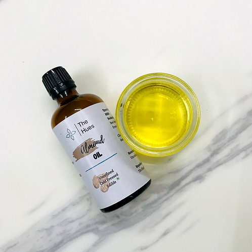Cold pressed Sweet Almond Oil [Edible]