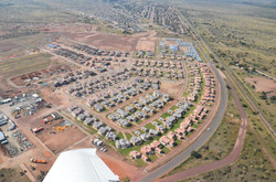 AERIAL PHOTO - COMPLETED HOUSES