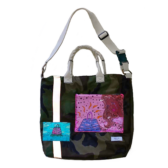 Camo Tote ( Don't cry about it )