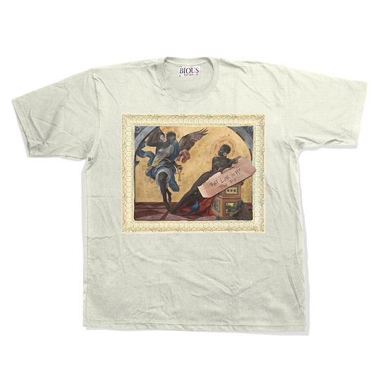 The Annunciation of a Woman T Shirt ( White )