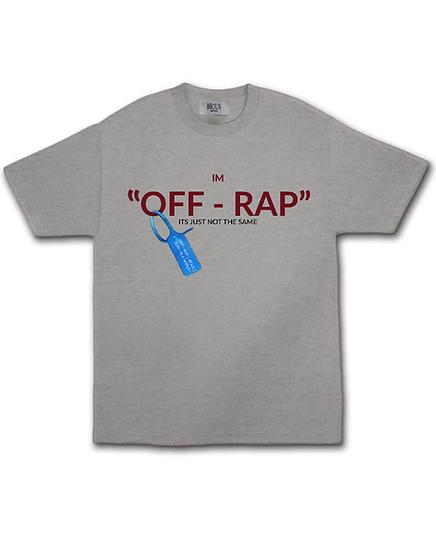 """IM """" OFF - RAP """" T - SHIRT (EN VOUGE)"""